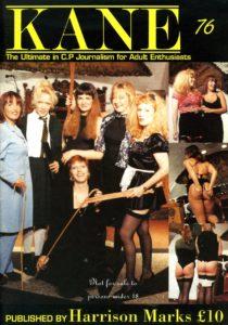 Kane spanking magazine 76 by Harrison Marks featuring Lorraine Ansell