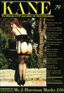 Kane spanking magazine 79 by Harrison Marks featuring Lesley Saye