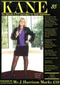 Kane spanking magazine 85 by Harrison Marks featuring strict Margaret