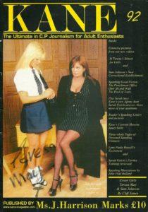Kane spanking magazine 92 by Harrison Marks featuring Sam Johnson and Teresa May