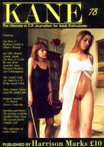 Kane spanking magazine 78 by Harrison Marks featuring Zoe Rose