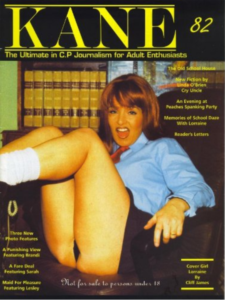Kane spanking magazine 82 by Harrison Marks featuring Lorraine Ansell