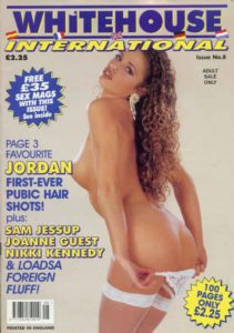 Whitehouse International Magazine number 8 Jordan (Katie Price)