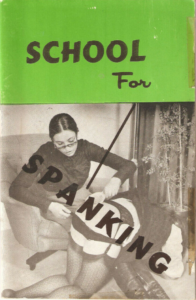 Vintage Spanking Magazine School For Spanking